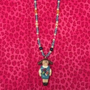 Girl Scout Daisy Necklace